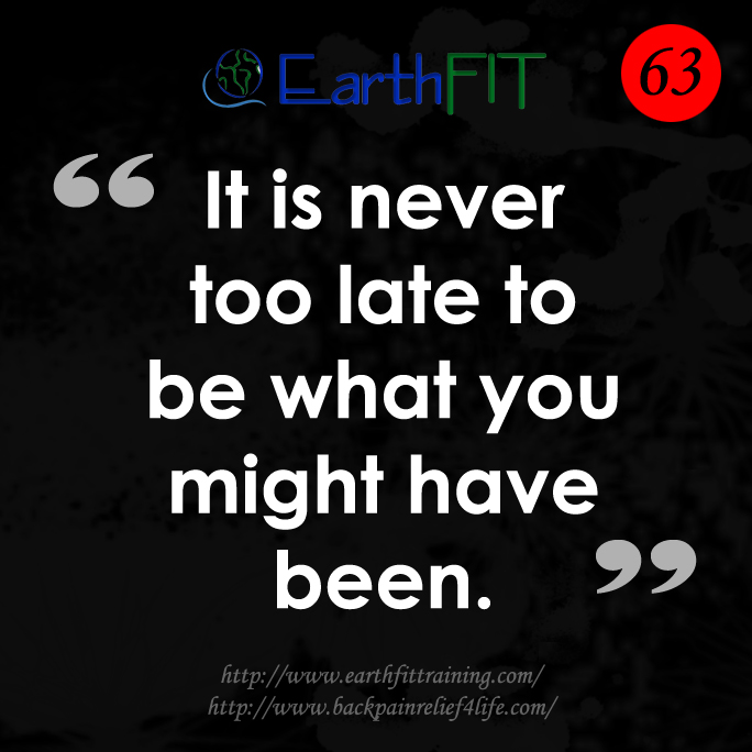 63 EarthFIT Quote of the Day