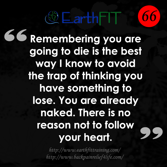 66 EarthFIT Quote of the Day