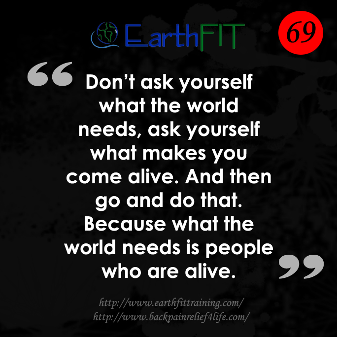 69 EarthFIT Quote of the Day
