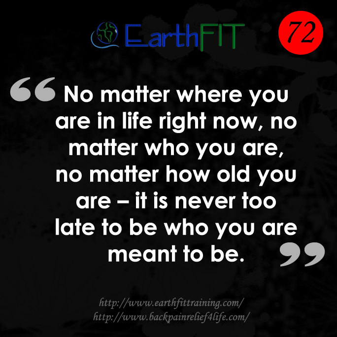 72 EarthFIT Quote of the Day