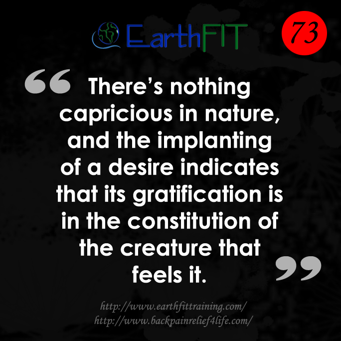 73 EarthFIT Quote of the Day