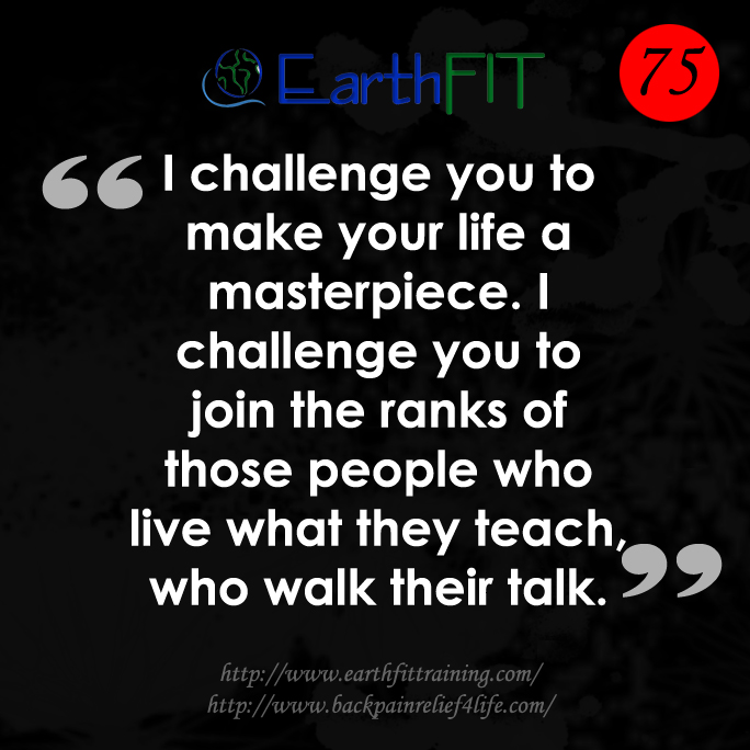 75 EarthFIT Quote of the Day