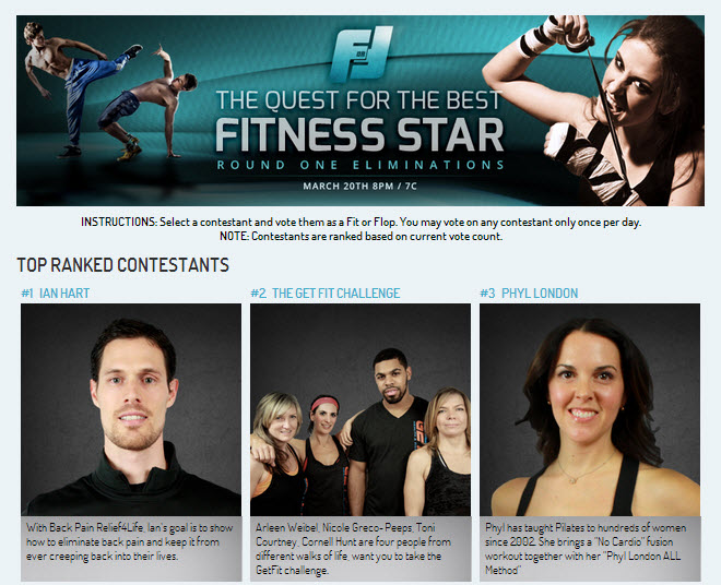 fit or flop screenshot The Quest For The Best Fitness Star (Beaufort Personal Trainer, EarthFIT)