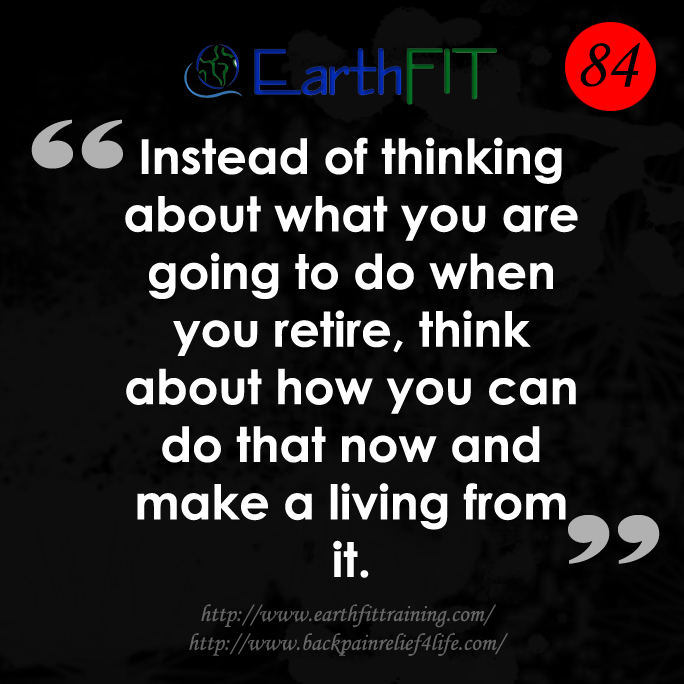 841 EarthFIT Quote of the Day