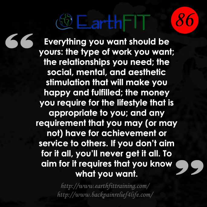 86 EarthFIT Quote of the Day