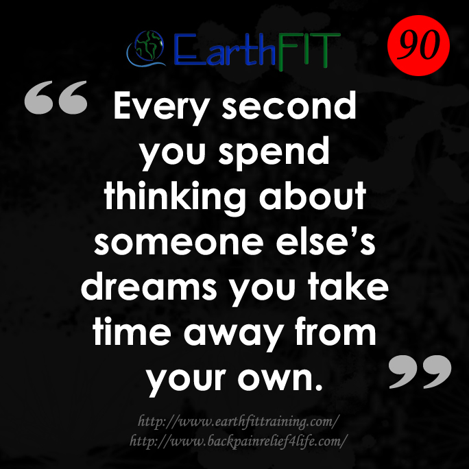 90 EarthFIT Quote of the Day