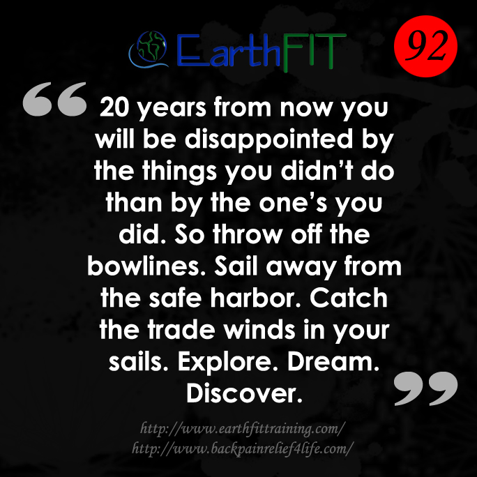 92 EarthFIT Quote of the Day