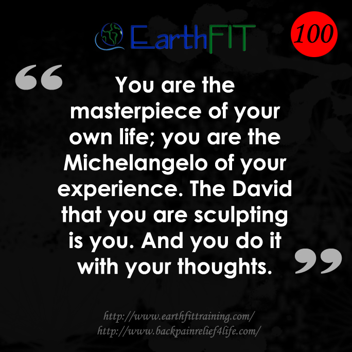 100 EarthFIT Quote of the Day