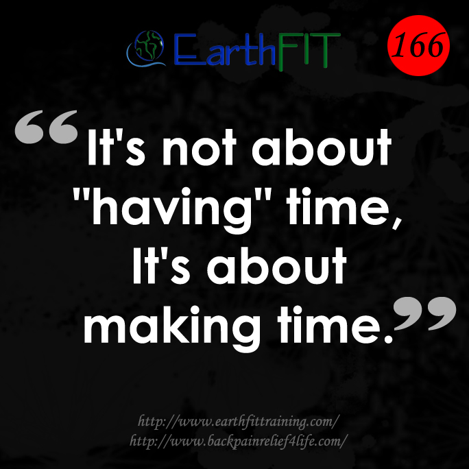 166 EarthFIT Quote of the Day
