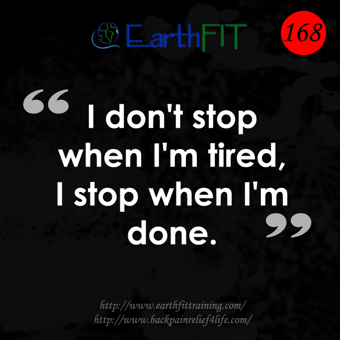 168 EarthFIT Quote of the Day