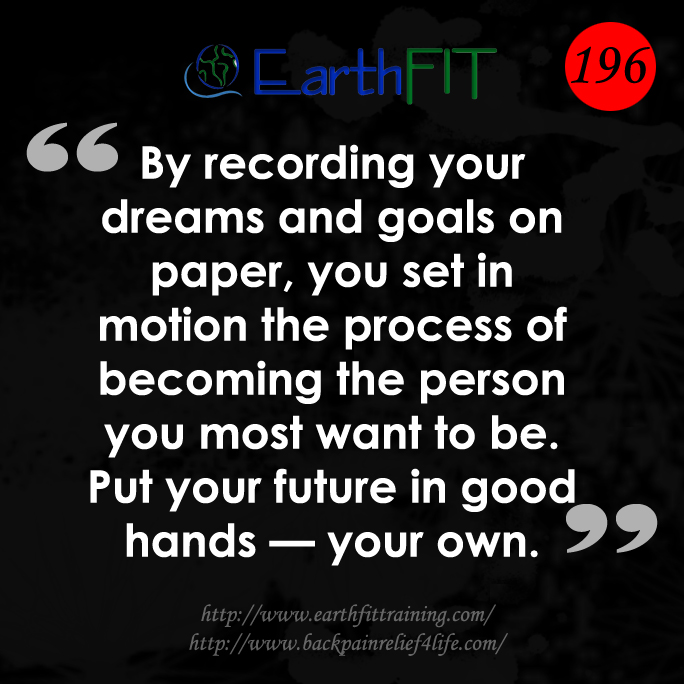 196 EarthFIT Quote of the Day