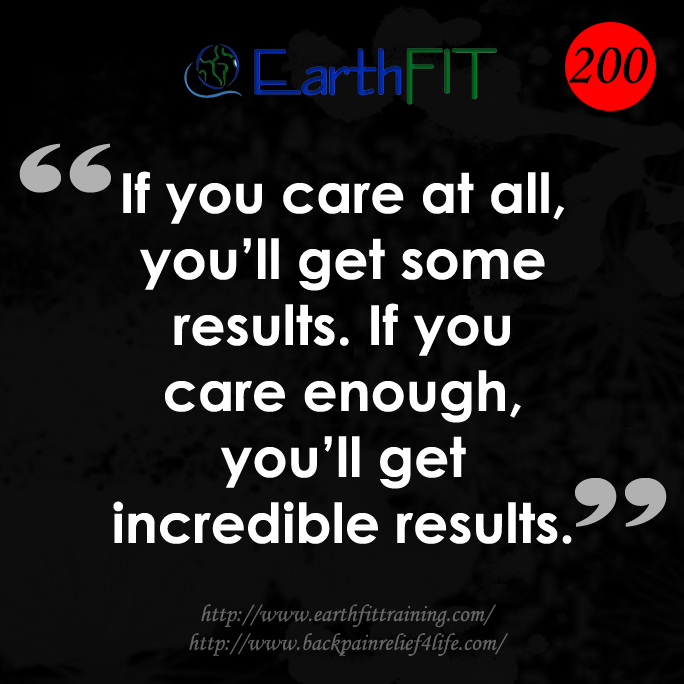 200 EarthFIT Quote of the Day