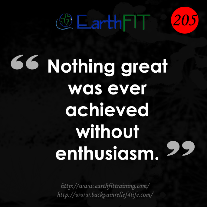 205 EarthFIT Quote of the Day
