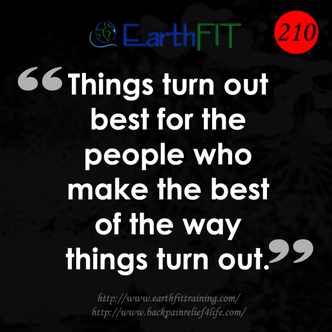 210 EarthFIT Quote of the Day