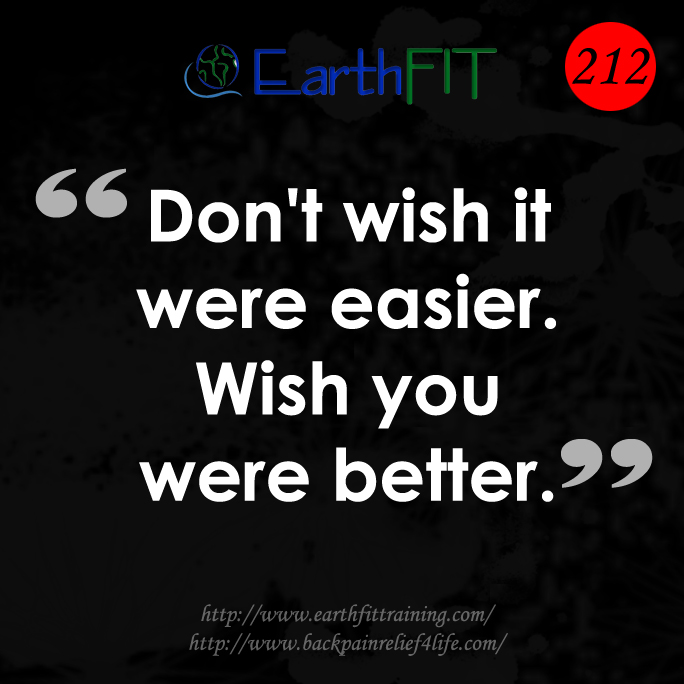 212 EarthFIT Quote of the Day