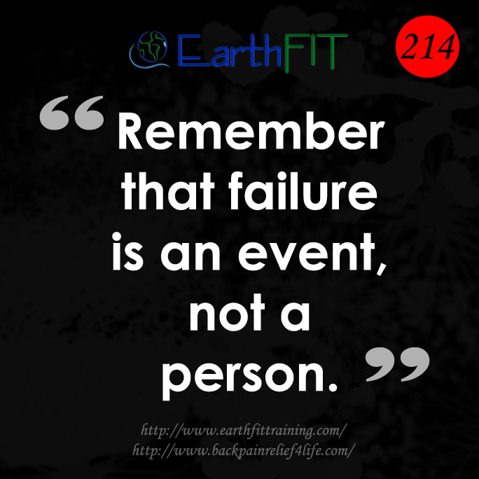 214 EarthFIT Quote of the Day