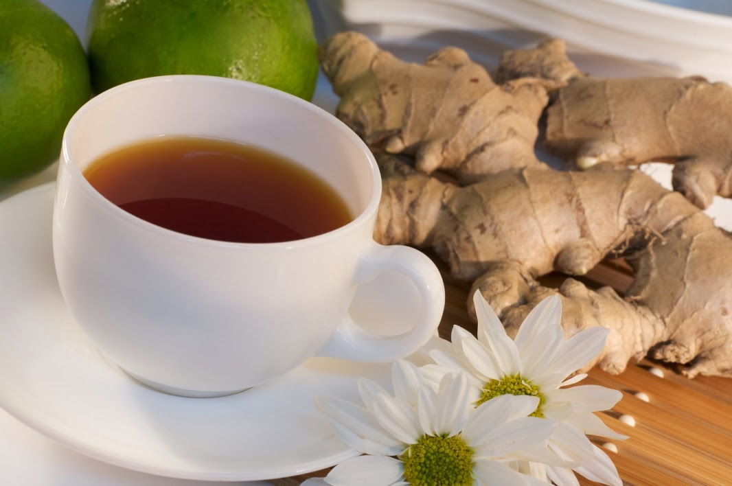 ginger tea Beaufort Health and Fitness: Ginger Turmeric Tea Recipe