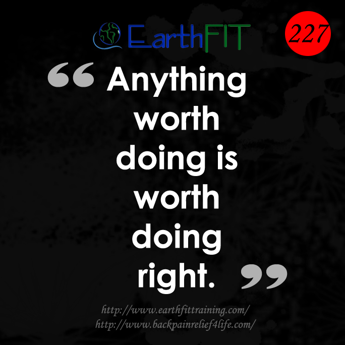 227 EarthFIT Quote of the Day