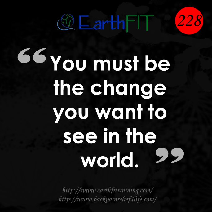 228 EarthFIT Quote of the Day