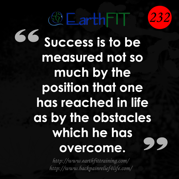 232 EarthFIT Quote of the Day