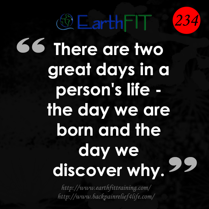 234 EarthFIT Quote of the Day