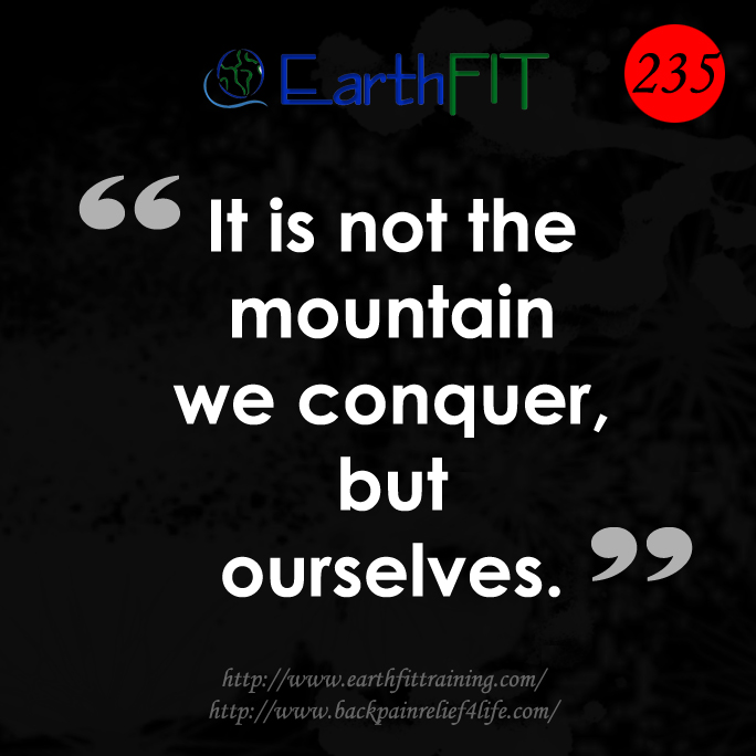 235 EarthFIT Quote of the Day