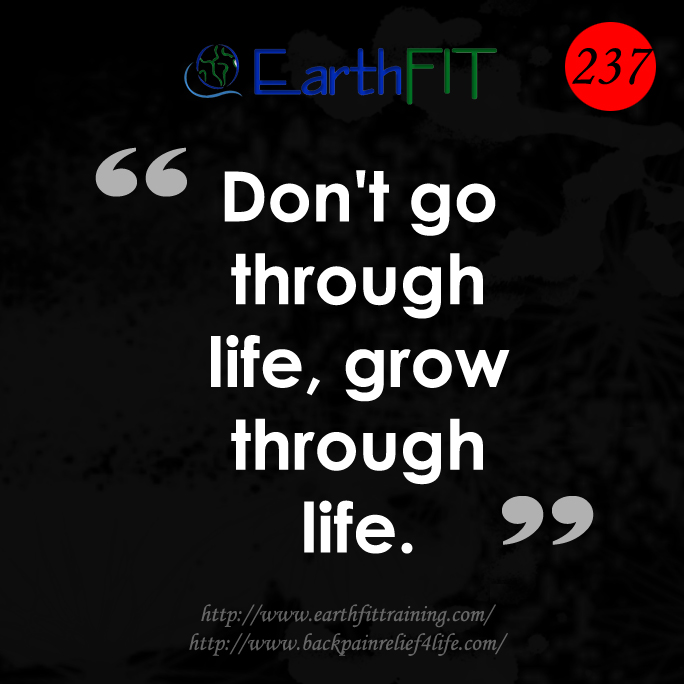 237 EarthFIT Quote of the Day