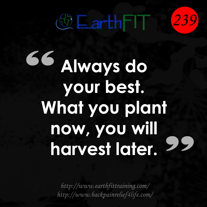 239 EarthFIT Quote of the Day