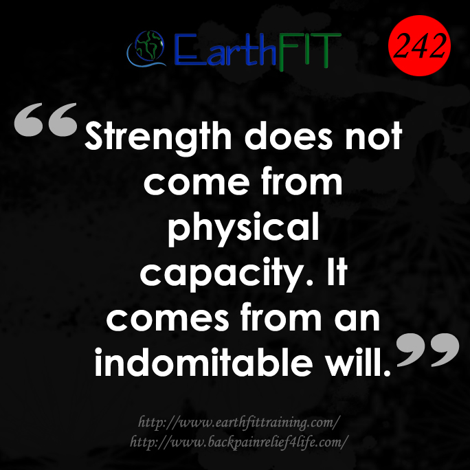 242 EarthFIT Quote of the Day