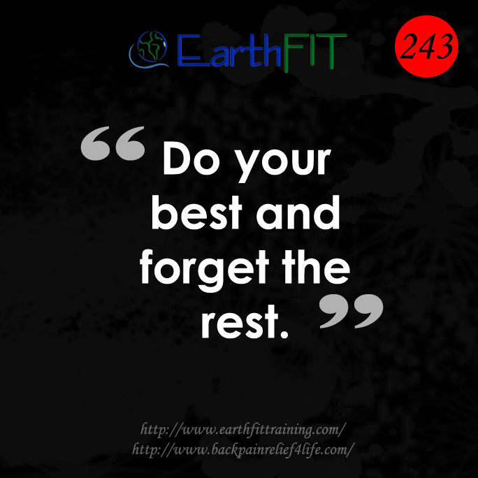 243 EarthFIT Quote of the Day