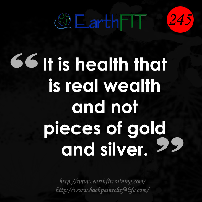 245 EarthFIT Quote of the Day