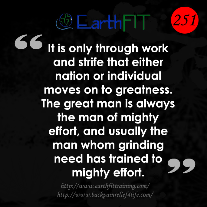 251 EarthFIT Quote of the Day
