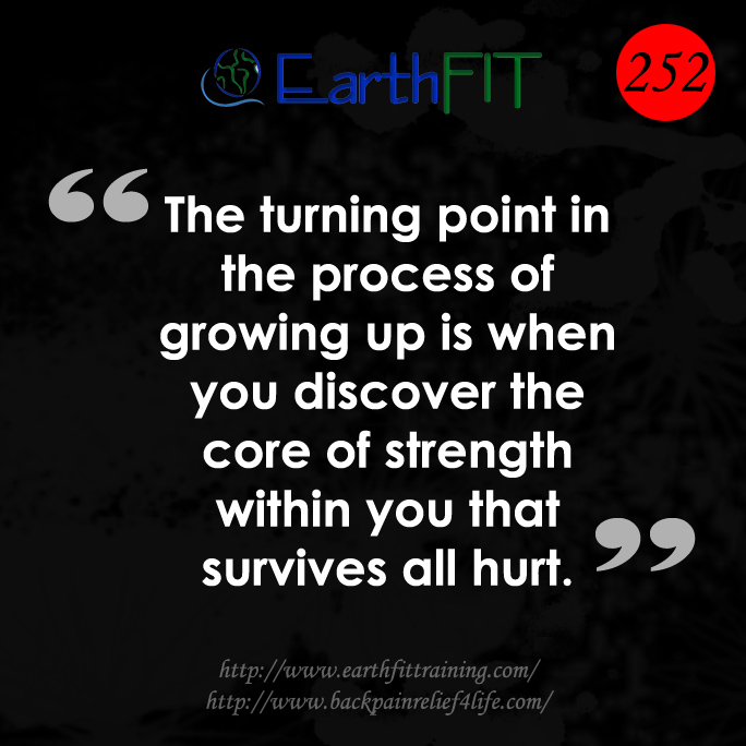 252 EarthFIT Quote of the Day