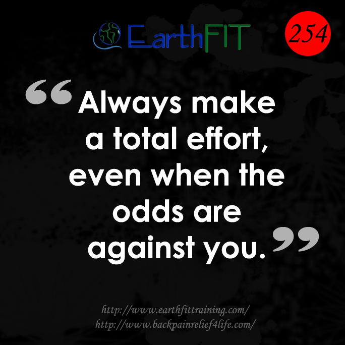 254 EarthFIT Quote of the Day