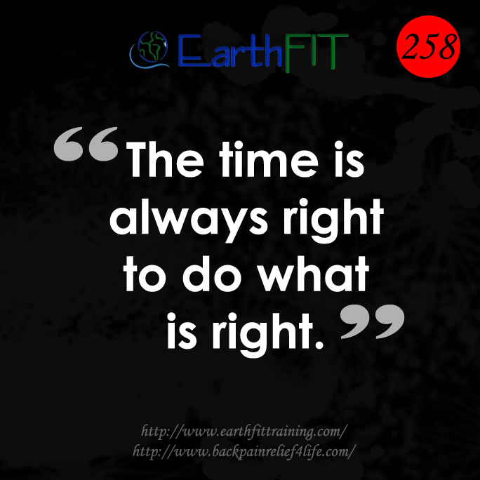 258 EarthFIT Quote of the Day