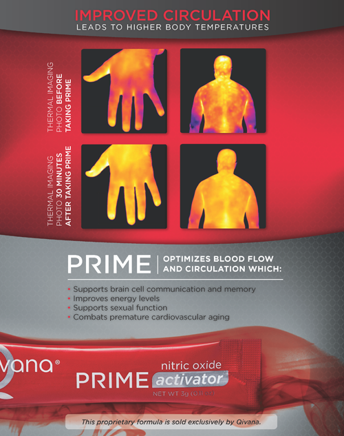 PRIME Thermal Imaging Flyer Nov12 web Qivana Prime NO Activator System