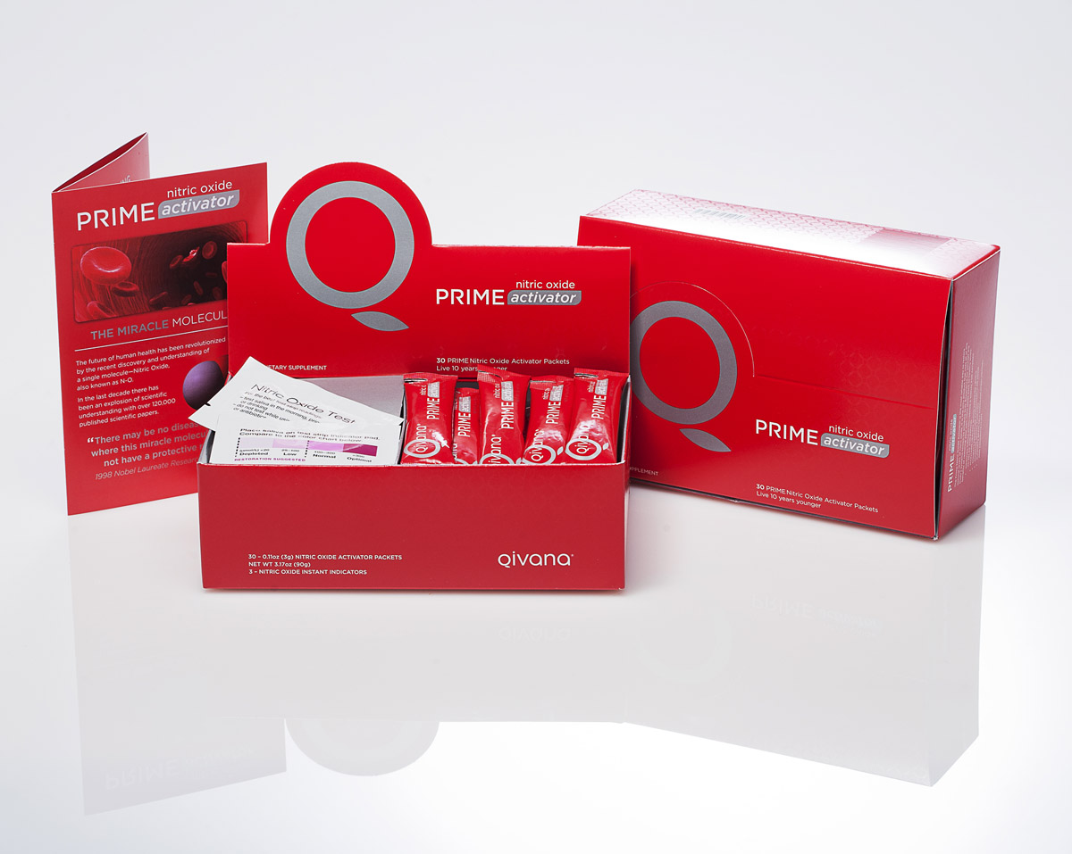 Prime 2 pack small Qivana Prime NO Activator System