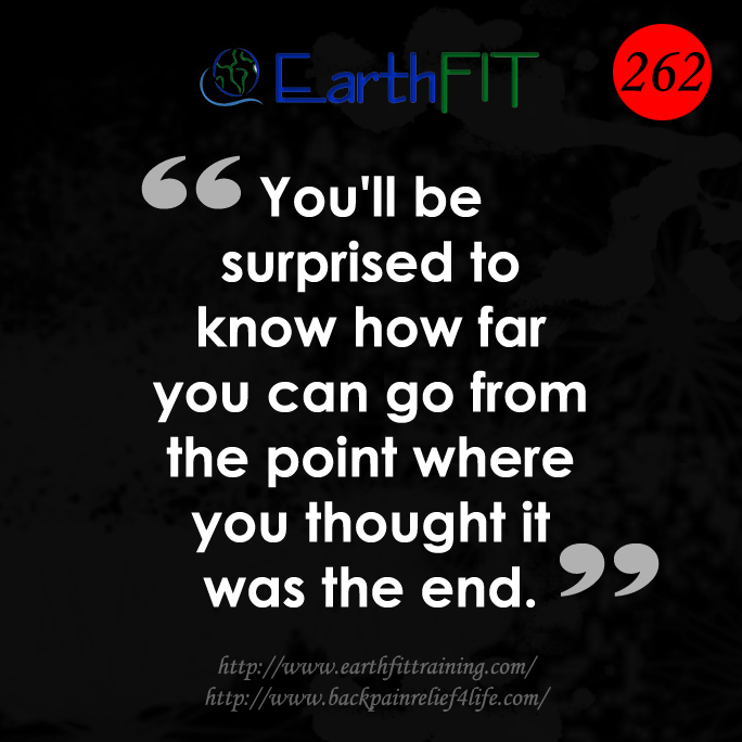 262 EarthFIT Quote of the Day