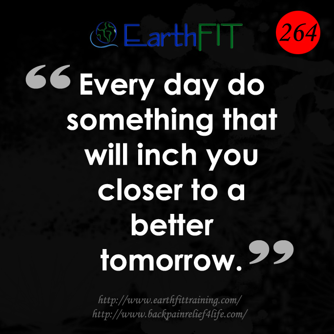 264 EarthFIT Quote of the Day