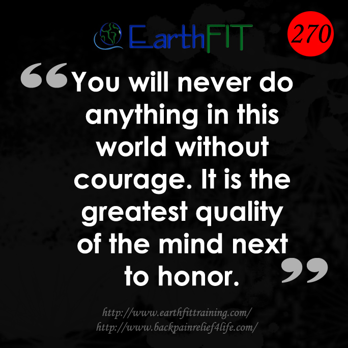 270 EarthFIT Quote of the Day