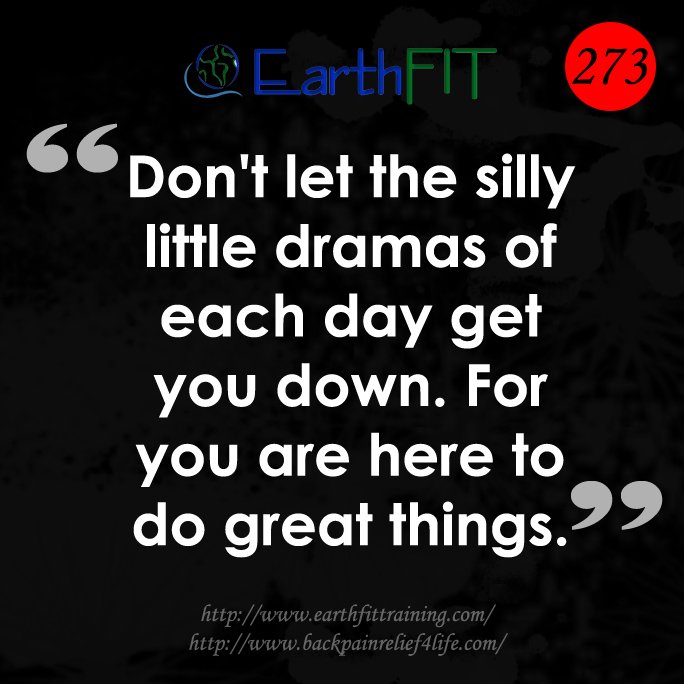 273 EarthFIT Quote of the Day