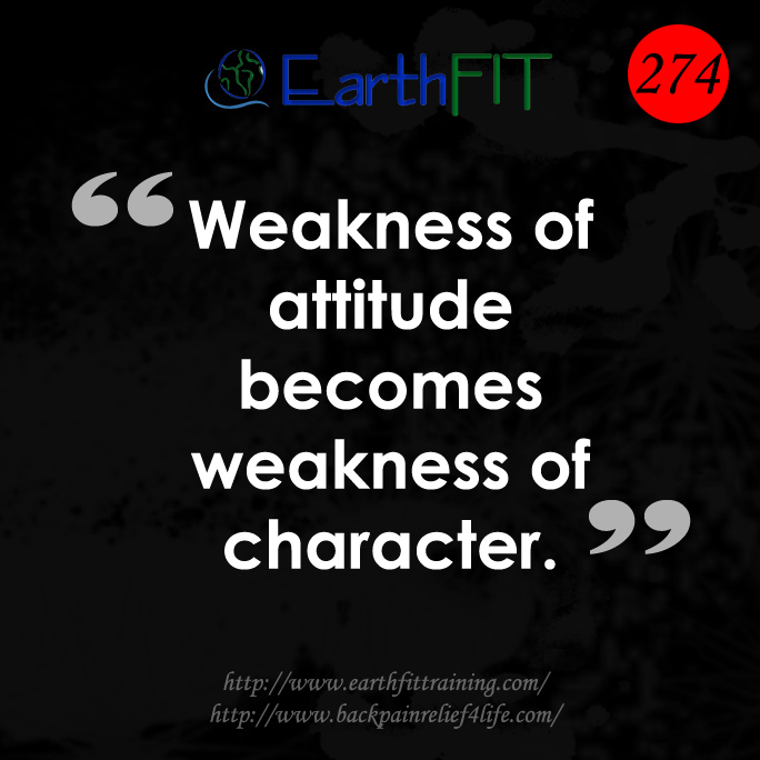 274 EarthFIT Quote of the Day