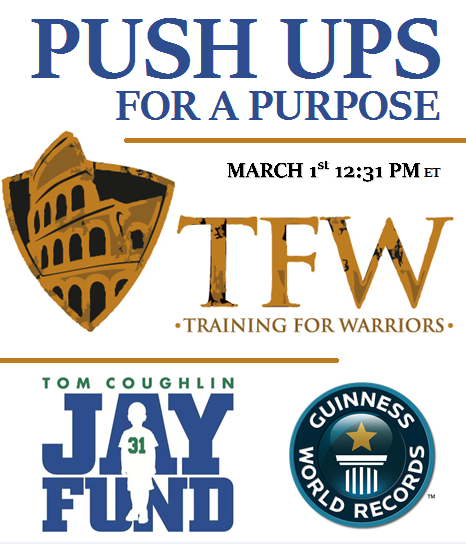 pufp Beaufort Fitness: Push Ups For A Purpose