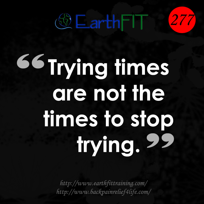 277 EarthFIT Quote of the Day