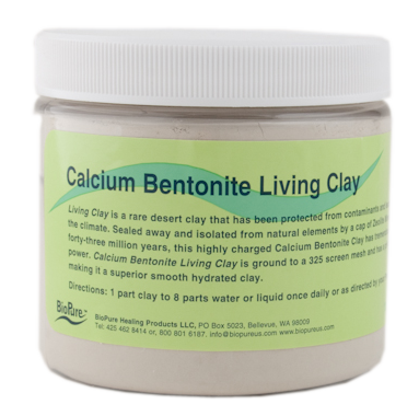Bentonite living clay Beaufort Health and Fitness: 8 Essential Household Remedies