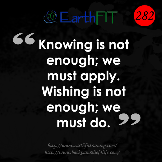 282 EarthFIT Quote of the Day