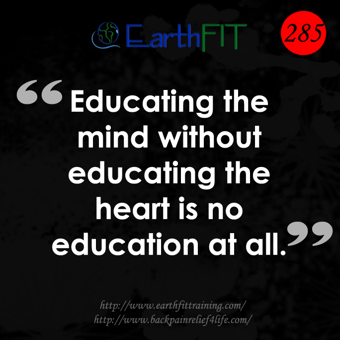 285 EarthFIT Quote of the Day