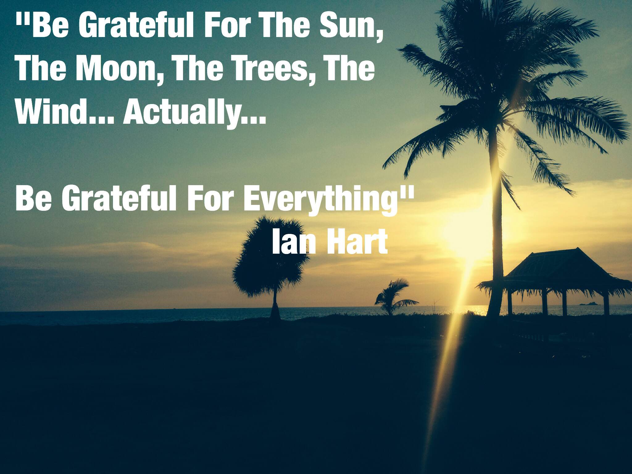 IMG 2796 EarthFIT Quote of the Day: Be Grateful For Everything