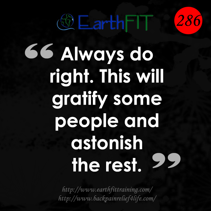 286 EarthFIT Quote of the Day