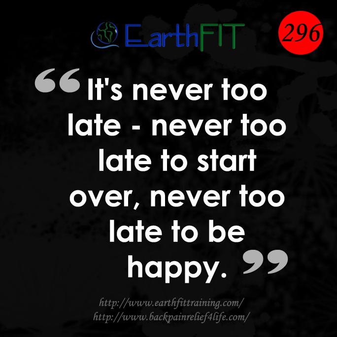 296 EarthFIT Quote of the Day